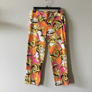 Lilly Pulitzer palm beach fit stretch crop pants 2